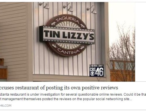 Yelp Accuses Restaurant Business of Posting its own reviews